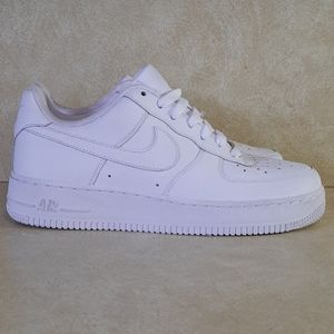 Nike Air Force 1 White Size 7 Youth 7Y 314192-113